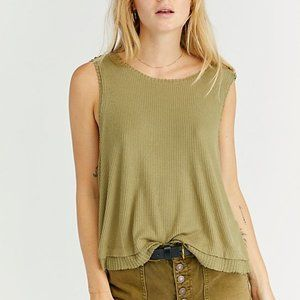 NWT Free People We the Free New Love Tank Top